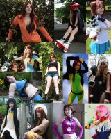 My Cosplay Collage by bluepaws21