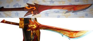 Judgement Sword finished by AuraRinoa