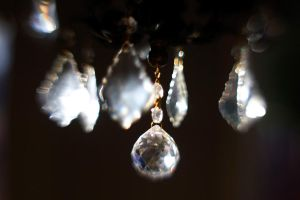 Crystal Chandelier Lensbaby VI by LDFranklin