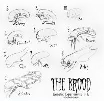 The Brood: 1-10 by peanutchan