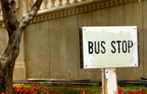 Bus Stop by BinDubai