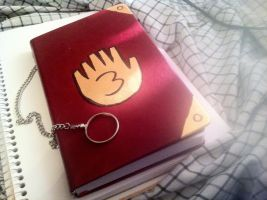 Gravity Falls Journal - First Try by awesomesaucexp