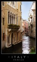 Venice - canal by dark-spider
