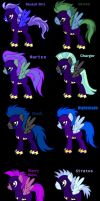 The Shadowbolts by CrunchyButterToast