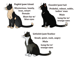 Rosemary's Kits: Adoptables WINNERS by SaintPumpkinMuffin