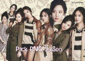 PACK #7 - PNG YURI AND SEOHYUN by~Kag by rankagome52