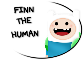 Finn The Human - Portrait by S3NTRYdesigns