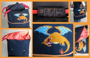 Charizard Bag by SailorAnime