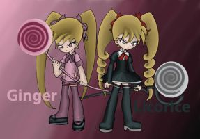 Ginger and Licorice by 123Amethest
