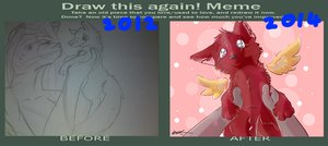 Draw Again Meme For Adopt This One by XxPuppyProductionsxX