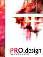 ProDesign Brochure 3 by L0053R