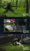 Slideshow Template forest compiled by Blackpassion777