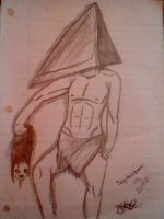 ~Pyramid Head~ by BloodyMetalPup