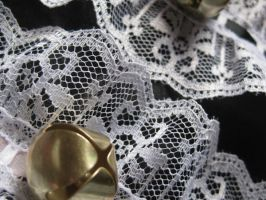 Maid Cat Collars - Close Up by mad-hatter-inc
