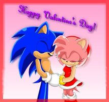 Valentine's Day-SonAmy by amy2sa-fan
