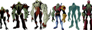 Vilgax Crossingers by PapercraftKing