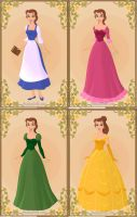 Belles Outfits by k2pony