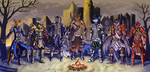 [Commission] Diablo 2 - Warriors of The Dawn by 7THeaven