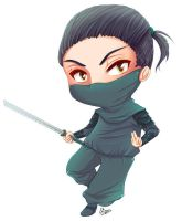 - Commission: The Ninja - by hyacinthess