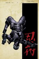 SnakeEyes 3 Cover by spidermanfan2099