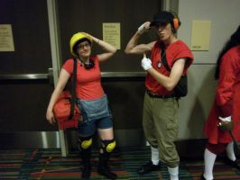 CTCon 2011: RED Engie, Scout by TEi-Has-Pants