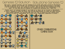 [ITA/ENG] Soluzione/solution Genesis 1.2 by JEricaM
