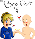 Pewdiepie brofist Base by Jenetik1