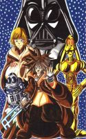 Kingdom Hearts fan art: What if Star Wars in KH3 by d13mon-studios