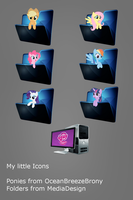 My Little Pony Icons by DjChapica