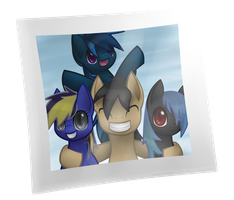 Commission: Group Photo by Chiramii-chan