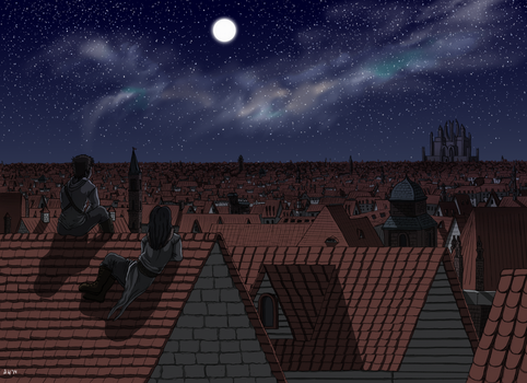 Rooftops by rockingyourstar