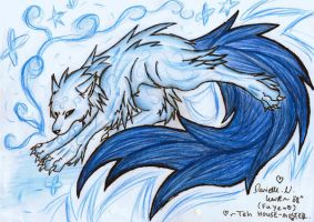 .Wolf Ice. by Whitewolfkitsune