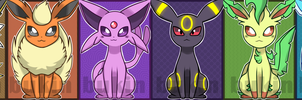 Eeevelutions by bukin