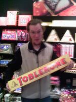 Giant Toblerone by ShawnSPeters