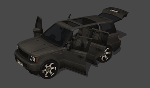 Battlefield 3 SUV 100% pose-able by bstylez