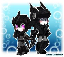 Commission: chibi NightRain by JinoSan