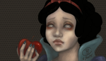 Snowwhite and the poisoned apple by magur
