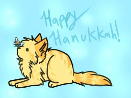 Happy Hanukkah! by Applethecat13