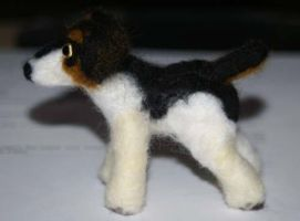 Needle Felted jack russell by The-GoblinQueen