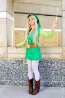 (fem) Link cosplay by Lashes-and-Glitter