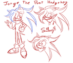 Jorge Sketches by SweetSilvy