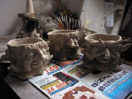 Flowerpots wip by DarkMask