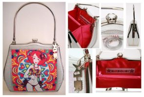 Miss Kika Bag on Sale by Blush-Art