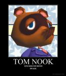 Tom Nook for Mayor by Shadowelecman