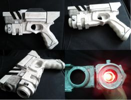 River Song gun, Dr Who Prop by Hordriss