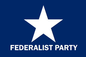 Federalist Party Flag by Party9999999