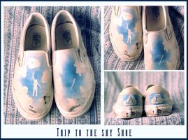 Trip to the sky Shoe by WarHart