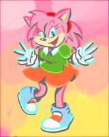 STH - Classic Amy Doodle by Future-Gamefreak