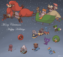 Merry Christmas 2011 by spiffychicken
