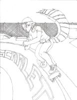 The skater girl with skills by Rictor-Omaga